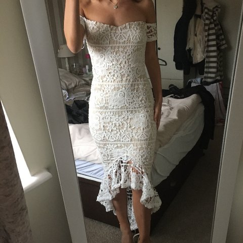 a1d137d5b0 @charliewilsonxx. 11 months ago. Middlesbrough, United Kingdom. Missguided  nude fishtail strapless midi dress. Topshop river island ...