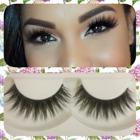 8534d64b40b Natural sparse eyelashes ⭐New free shipping with cm to 1.5 - Depop