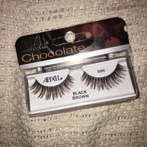 5d180d20665 Ardell Chocolate Lashes 🍫💛 I bought an extra pair but they - Depop