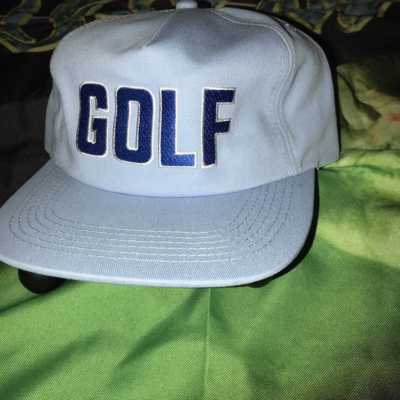 Brand new golf pride world wide hat from the mystery bags so - Depop c014980ac30