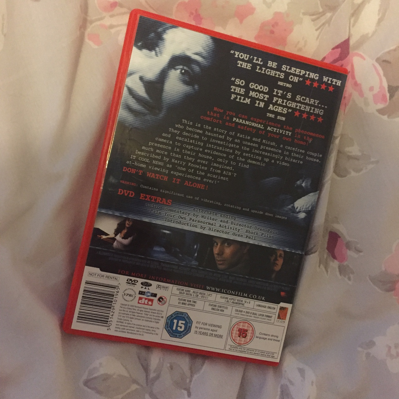 Paranormal Activity DVD  £3 including postage 💕    - Depop
