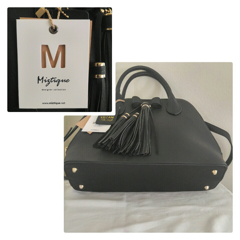 unequal in performance on sale online street price Miztique black vegan leather purse. New with tags.... - Depop