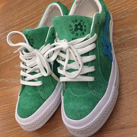 462029b8566a ON HOLD. DO NOT BUY Golf wang converse shoes Size 4 Wore - Depop