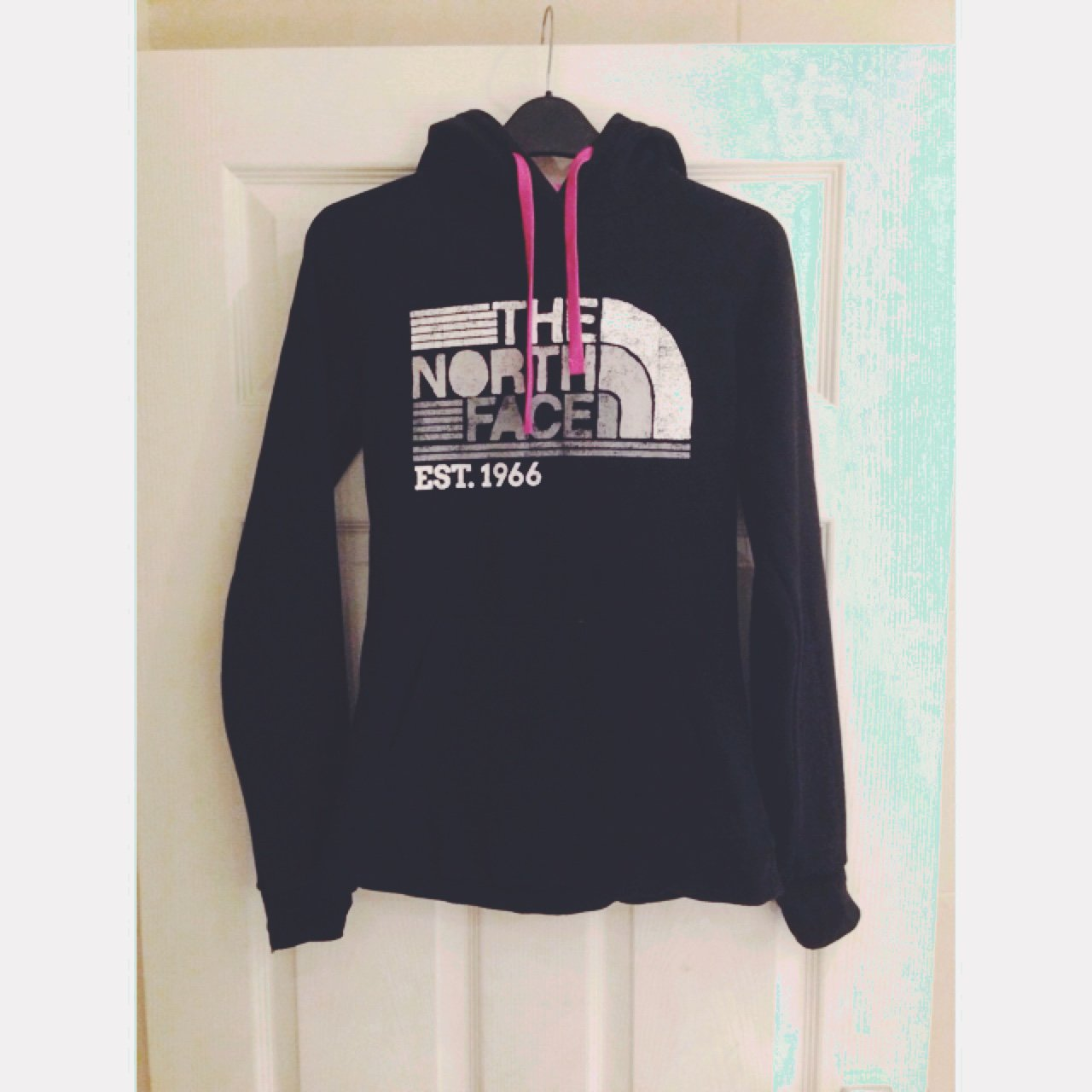 North Face women s hoodie jumper in a size small. Only worn - Depop edebc1097b