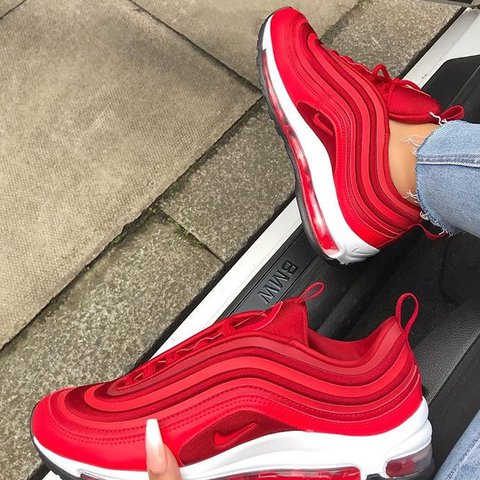 f61163540714 NIKE AIR MAX 97  ULTRA RED • Brand New • Comes with box • - Depop