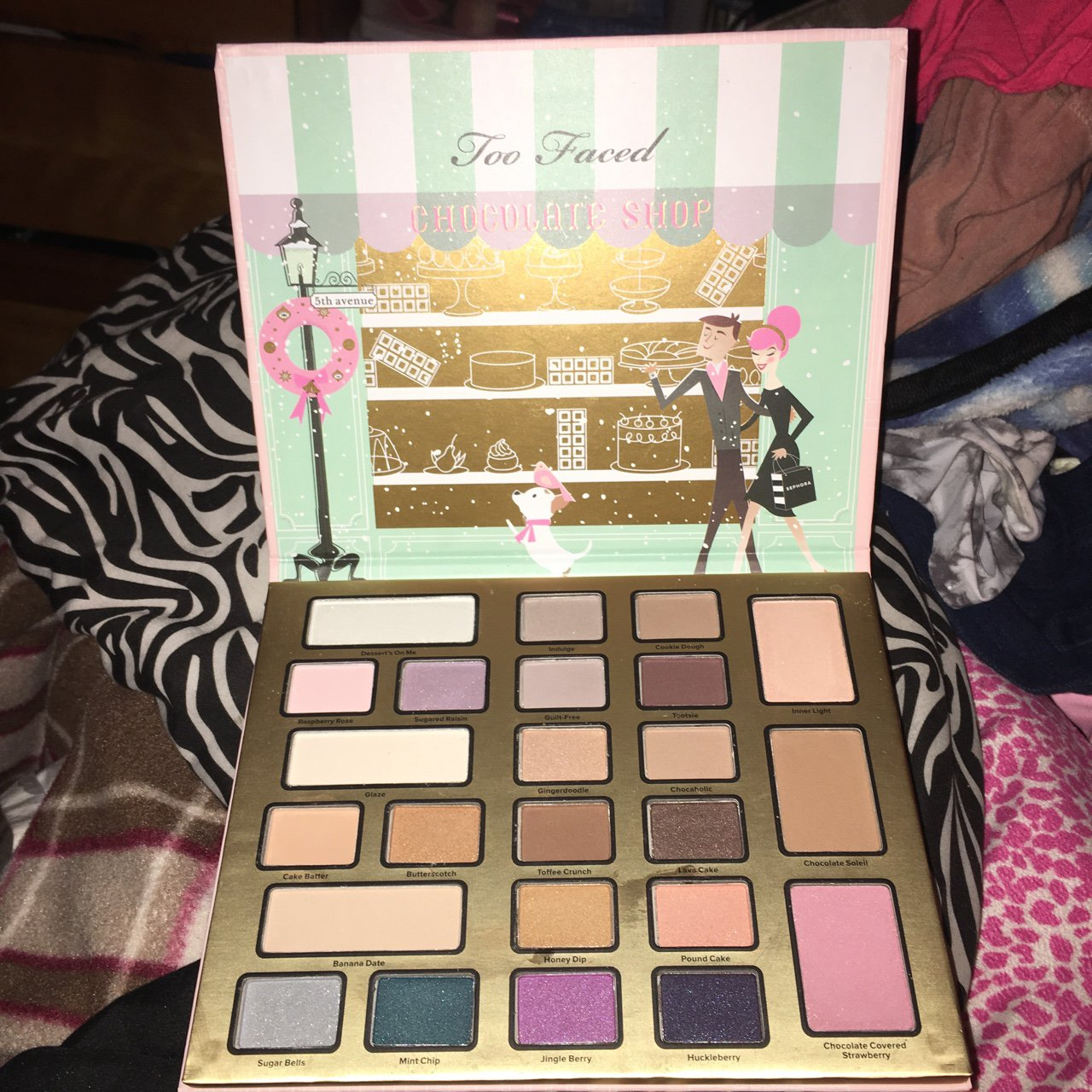 Too Faced Christmas In New York Chocolate Shop Palette I Depop
