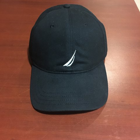 Black Nautica hat 8 10 condition POST FOR  lefting4 - Depop 3d91d3acc33