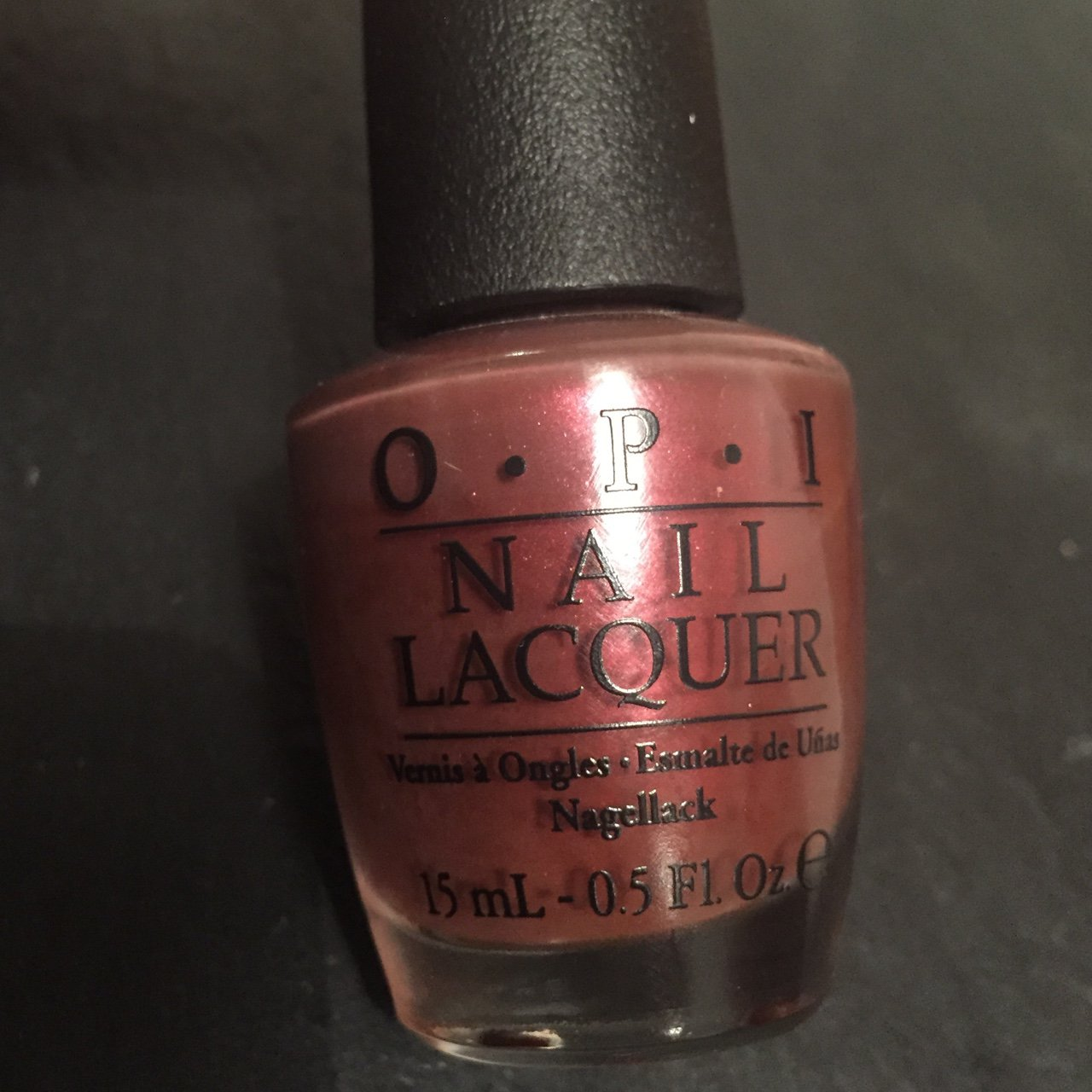 Genuine Opi Nail Polish Full Size Amazing Rust Colour On Depop