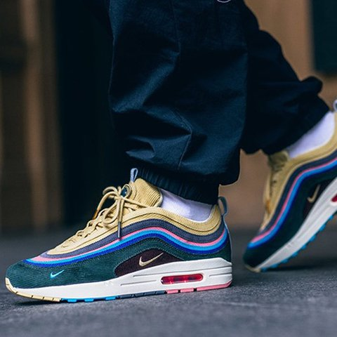 hot sale online 59d82 acea7 Nike Air Max 1/97 Sean Wotherspoon -Copped at Southampton - Depop