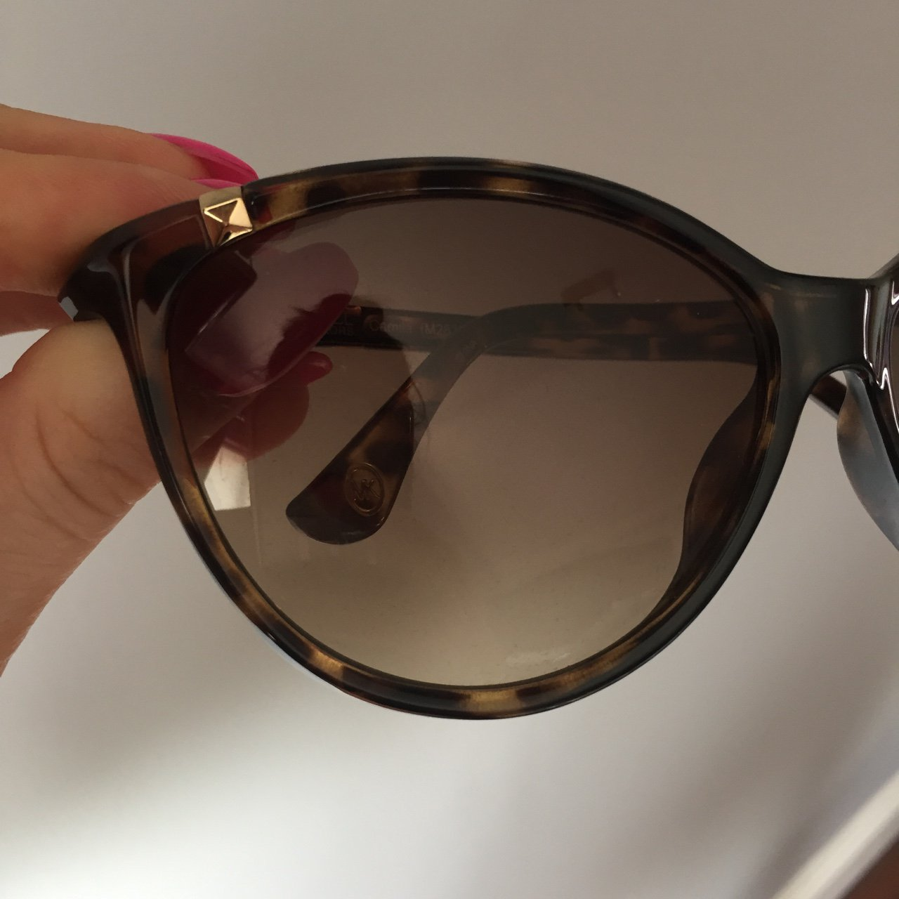 3d63cc9e9ec Genuine MICHEAL KORS sunglasses. Only worn once. Bought in - Depop