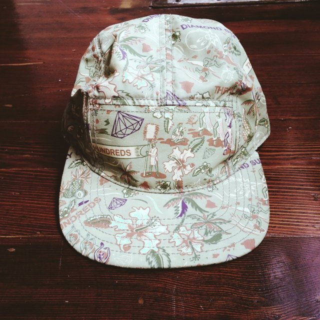 c7a4ee96ab141 Limited edition Hundreds x Diamond 5 panel hat