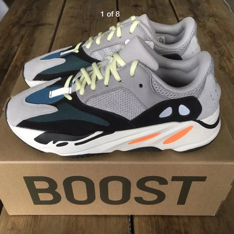 66a74b889d4 Brand new in box Adidas Yeezy Boost 700 Wave Runner in UK9 - - Depop