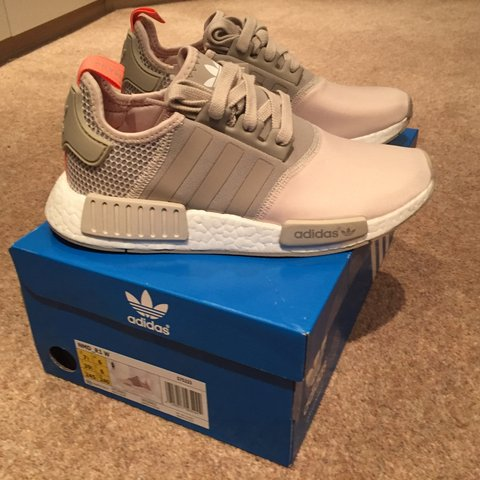 5de827fad740 Adidas NMD R1.. Limited edition.. Color Clear Brown Light UK - Depop