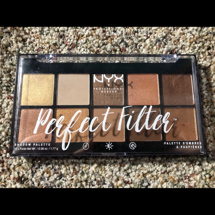 NYX Perfect Filter palette in Golden Hour  Only a    - Depop