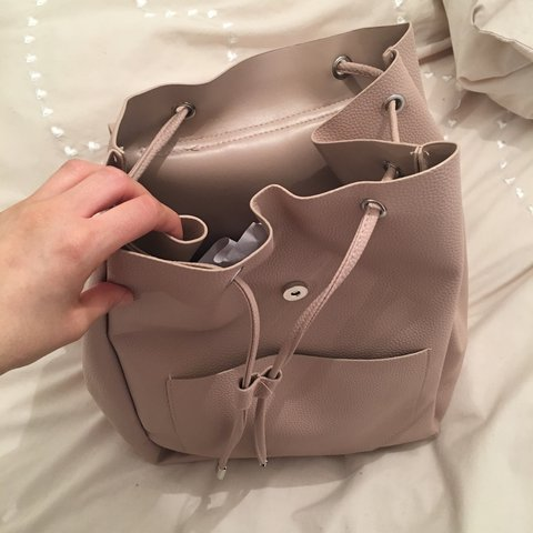 2cea9c9ba5df BRAND NEW New Look backpack! Gorgeous pale pink  mink Bought - Depop