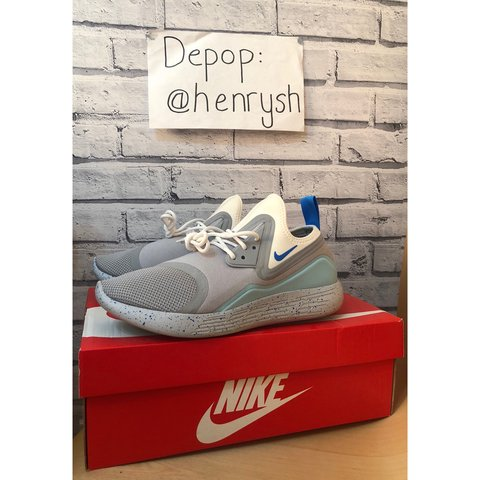 134a4c7005 Nike LunarCharge Mag (Wolf Grey / Blue) 🌀 Great summer with - Depop