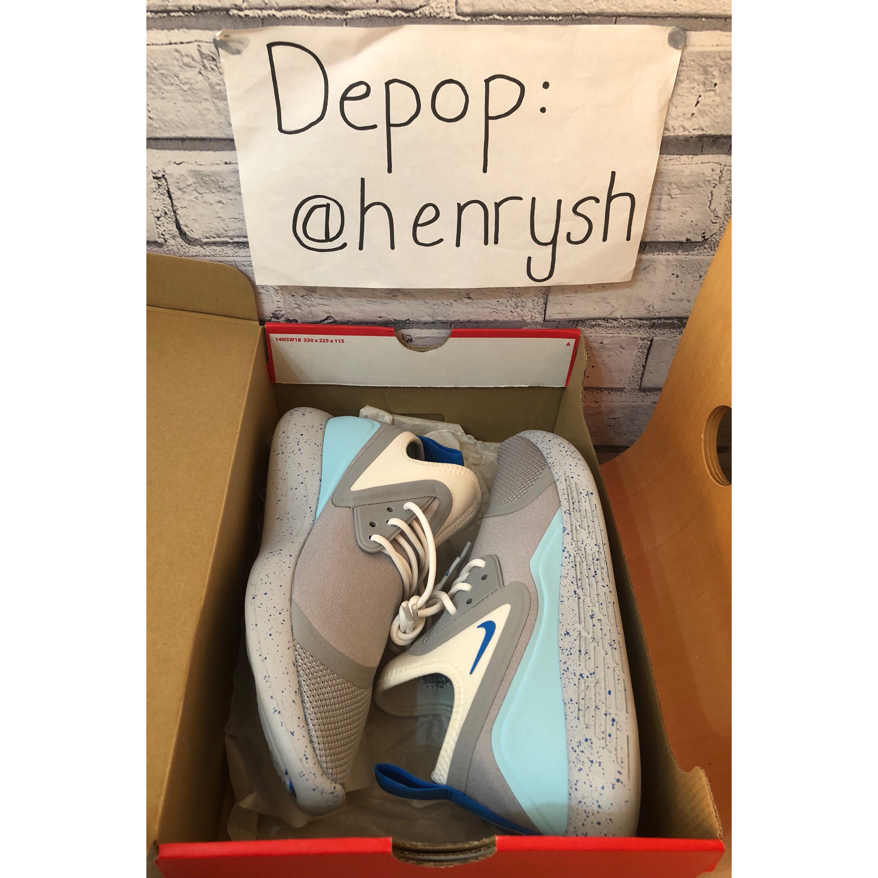 Nike Lunarcharge Mag Wolf Grey Blue Great Depop