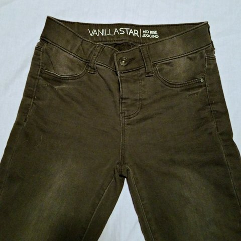9656a34e535e5 Vanilla Star mid-rise jeggings that I got from JC Penny for - Depop