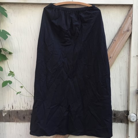 7b500e43c4 @agoraphobe. 2 years ago. Sacramento, CA, USA. Breezy black linen blend maxi  skirt ...