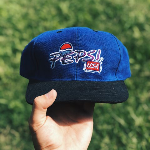 d06eceb2b4135 Vintage Pepsi Cola Snapback. Like brand new. All Super Will - Depop