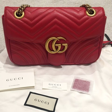 9c5ff62b96a2 @oliviajw. last year. London, UK. BRAND NEW - 100% authentic Gucci Marmont  ...