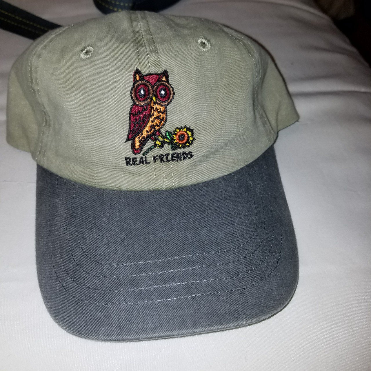 Real Friends owl dad hat. Never worn before in new Tags The - Depop d0af3e7b4ef