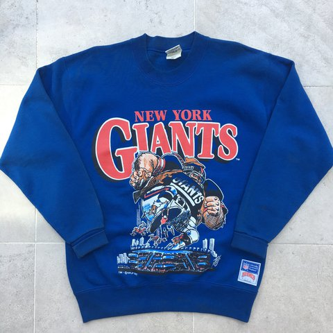 Vintage New York Giants NFL crew neck pullover sweatshirt L a776e6ce5