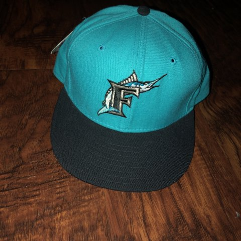 df34ba15b33e04 @nickkfish. 5 months ago. Dixon, United States. Vintage Florida Marlins new  ere fitted hat. Brand new with tags.