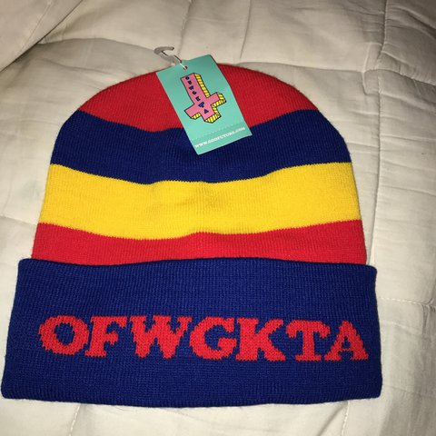 OFWGKTA BEANIE Price negotiable - Depop d50c8348204