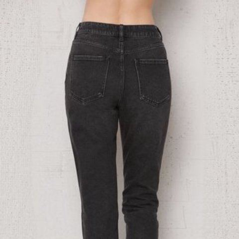 PACSUN MOM JEANS🖤 Color- Charcoal black Mom jean style 2f7c2da6a194