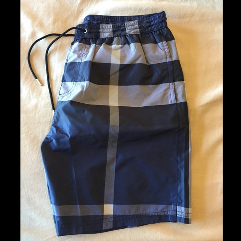 43f88361df Brand new Burberry Check Swim Shorts purchased at Burberry - Depop