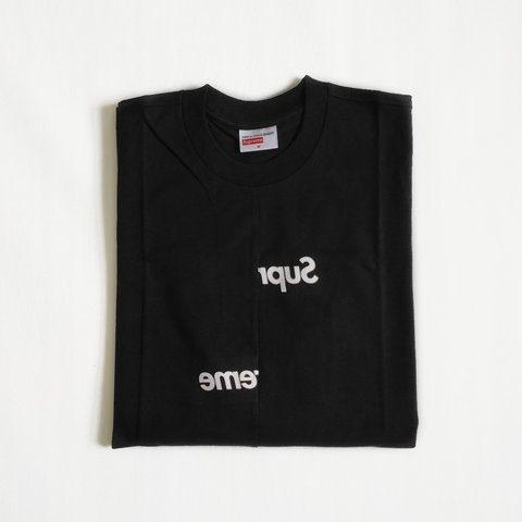 8119f07dc0a0 @akatony. 10 months ago. Leicester, GB. Supreme Comme des Garcons SHIRT CDG  Split Box Logo Tee ...