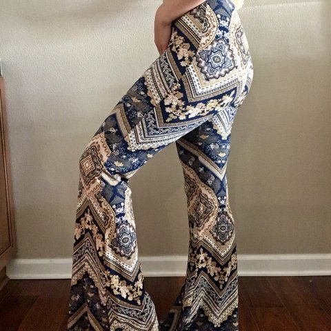 2e0f97290e9d Patten bellbottoms!!! I love these pants-the fit is perfect