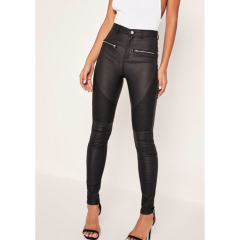 23774751 @abbierixon_x. 2 years ago. Dunblane, United Kingdom. Missguided black coated  highwaisted skinny jeans ...