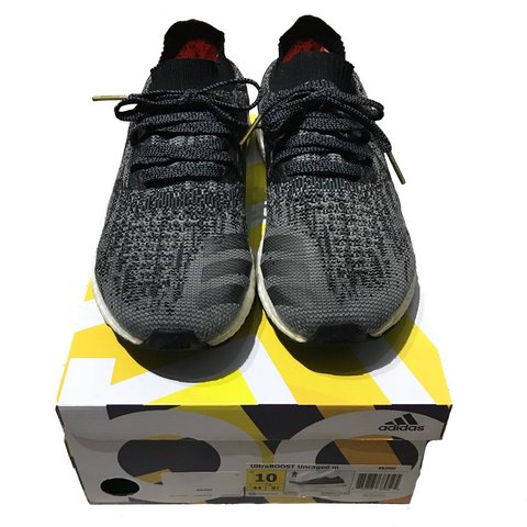 eda8549f74828 ... coupon for adidas ultra boost uncaged color way black grey size 10  depop 81faa fd4bb