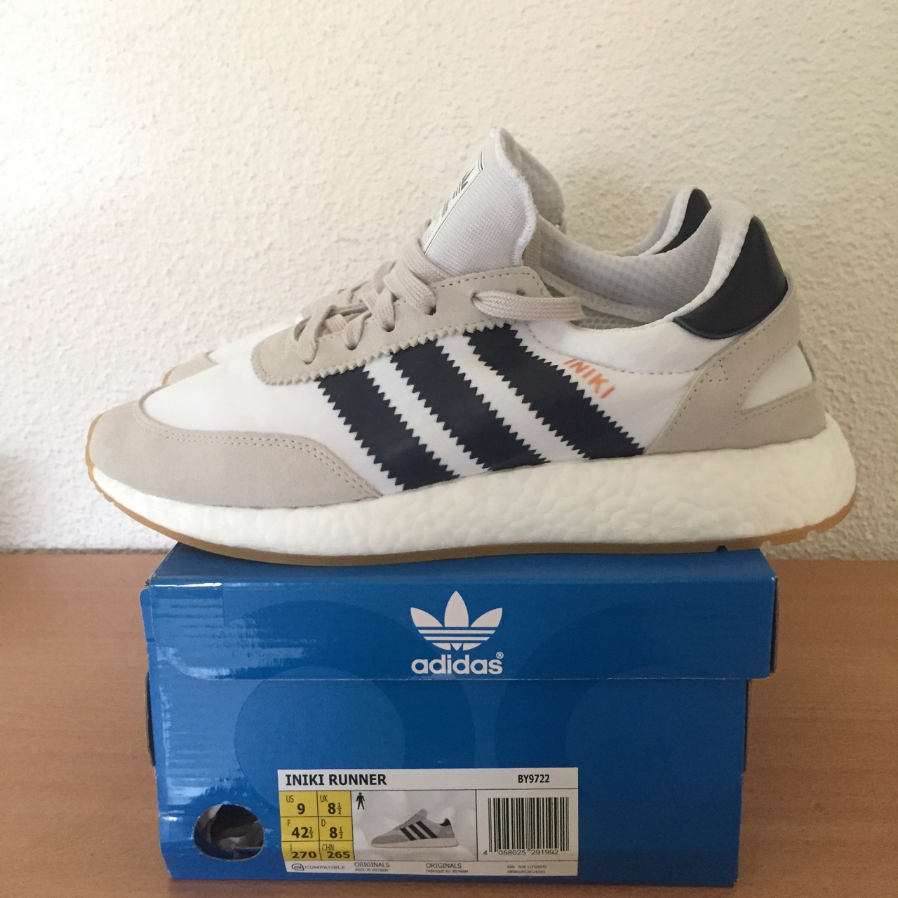 adidas Iniki Runner US 9 | EUR 42 23 | UK Depop