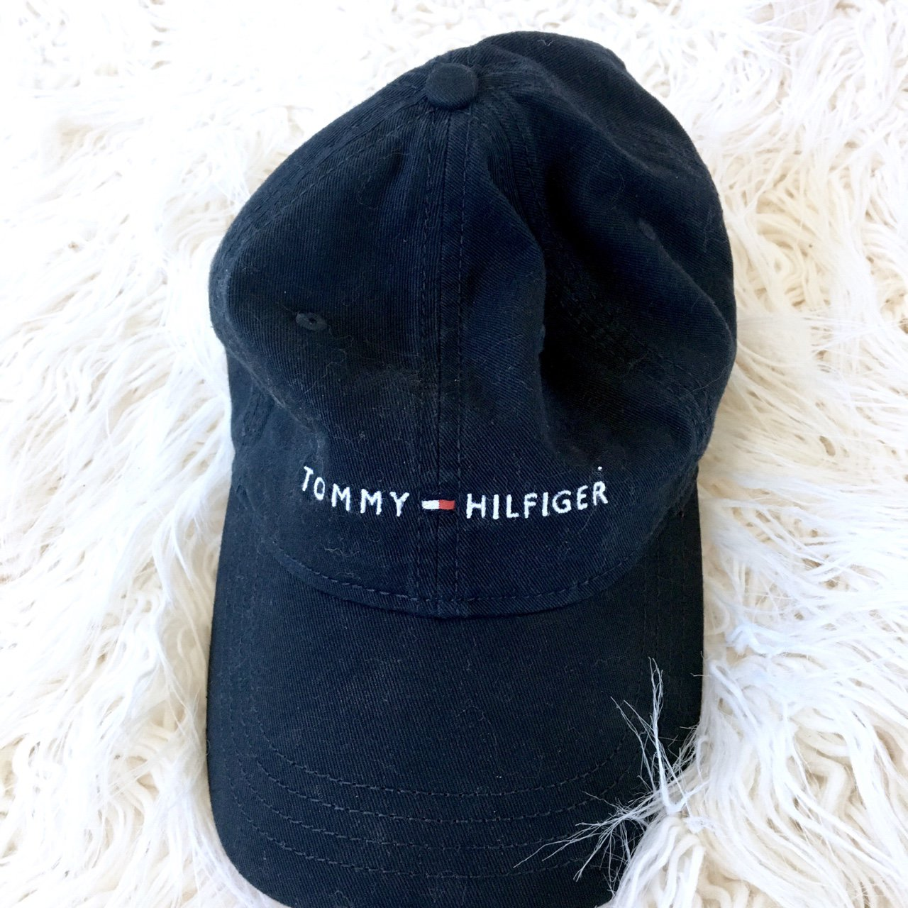 23d838b3aea NWOT Tommy Hilfiger Signature Logo Hat Condition  New One - Depop