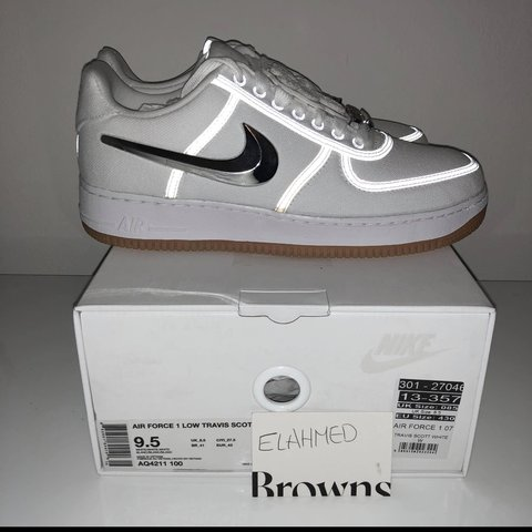 new arrival f4d3a 60e14 ... Nike Travis Scott Air Force 1 (AF100 collection) UK8.5 - Dep ...