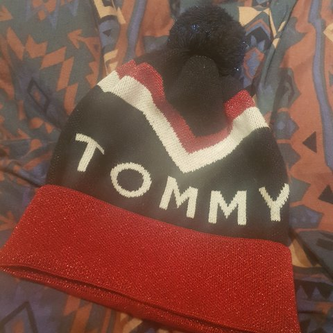 9e5c623d @rebeccab89. 2 months ago. Manchester, GB. Super cute Tommy Hilfiger bobble  hat for sale! £8. Free shipping!