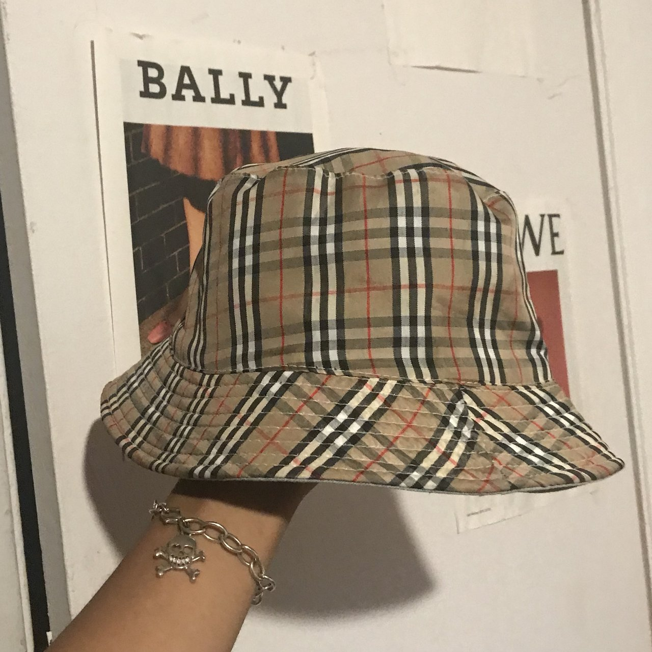 Super sick bucket hat Burberry pattern Best fit for someone - Depop 7252cd2208ed