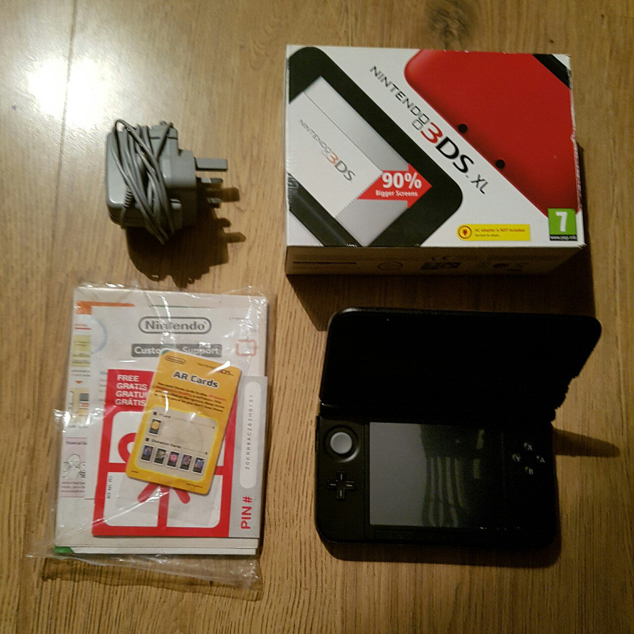 Nintendo 3ds Xl Mint Condition Included With Original Ar Depop