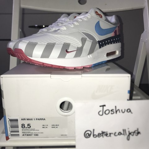 ❌SOLD❌ WTS nike am1 Parra (2018) Size 8.5 US Conditions - Depop 3d88a2d74