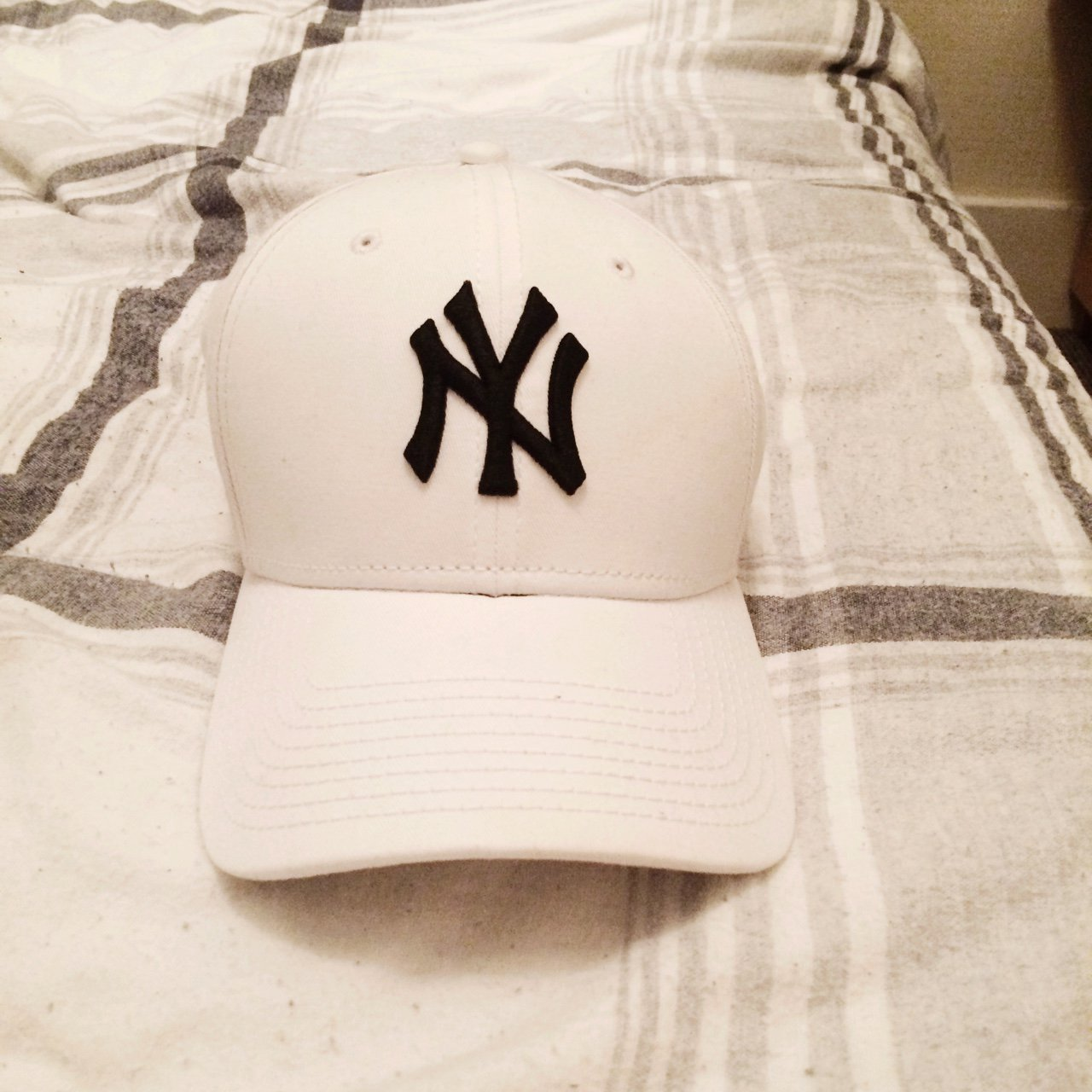 New Era New York Yankees 9FORTY adjustable cap  yankees - Depop 7ebdb8e3efe
