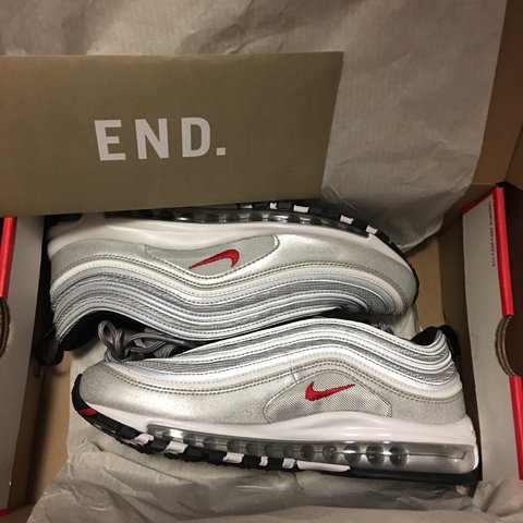new styles 9c397 fcfde Nike air max 97 silver- 0