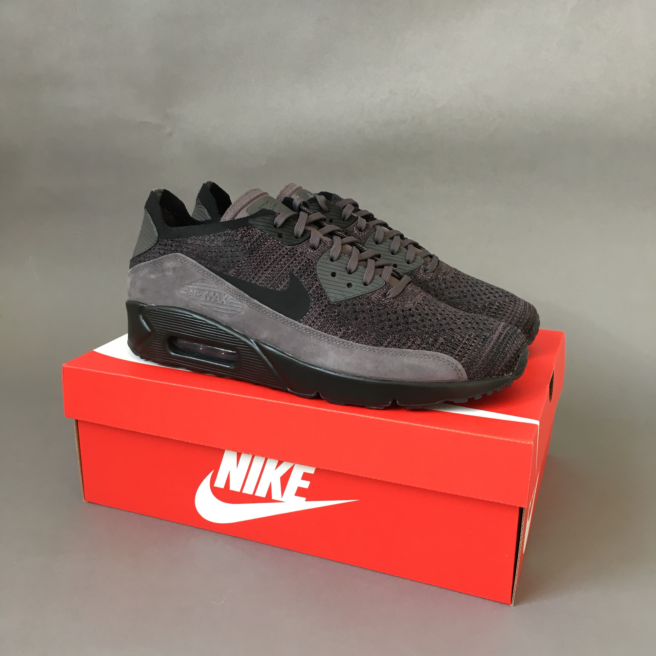 sneakers for cheap d4c20 45146 Nike Air Max 90 Ultra 2.0 Flyknit - Thunder... - Depop