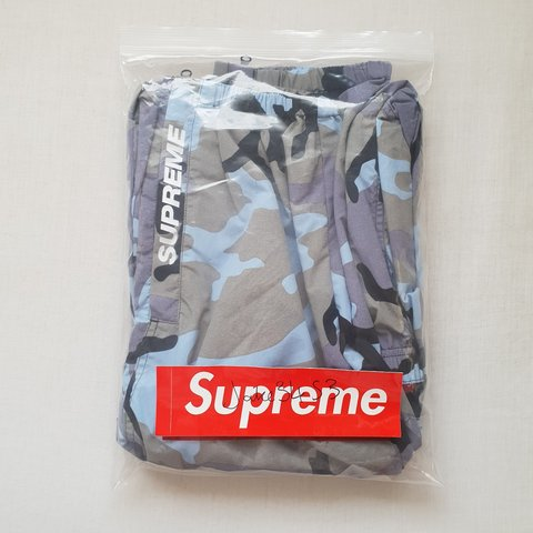 5e94f487ad6f8 @jake3453. 19 days ago. Pulborough, West Sussex, United Kingdom. Supreme  warm up pant. Blue camo