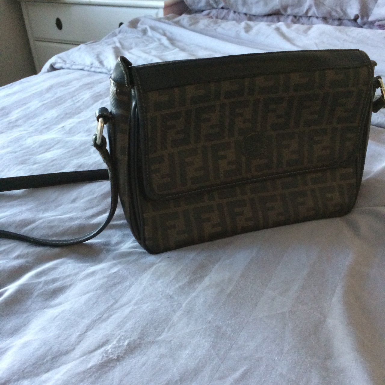 Authentic vintage Fendi handbag..has been well used so some - Depop 4867cd00617a2