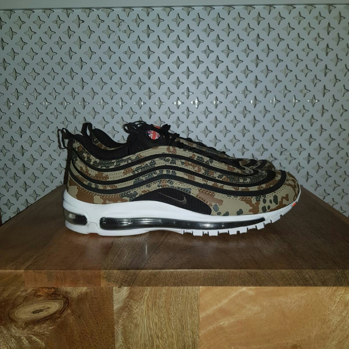 Air max 97 Camp Germany *union jack patch not Depop