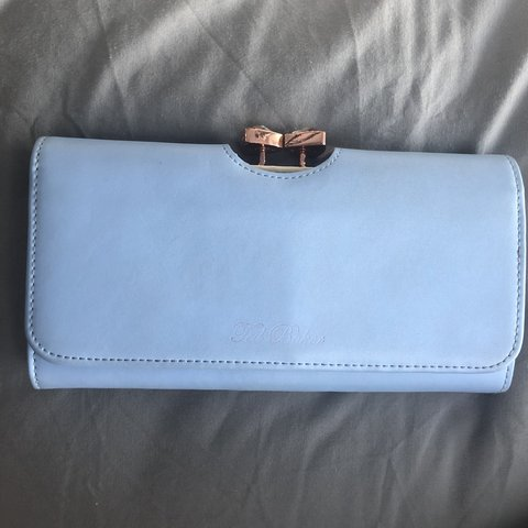 e558a82d5 Baby blue Ted Baker purse Used but in great condition The a - Depop
