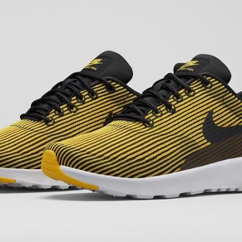 8375a72fb3 @emmalillian4. 3 months ago. New York, United States. Nike Air Max Thea  Jacquard Yellow Brand New with Box size 7.5 US women's. Never worn